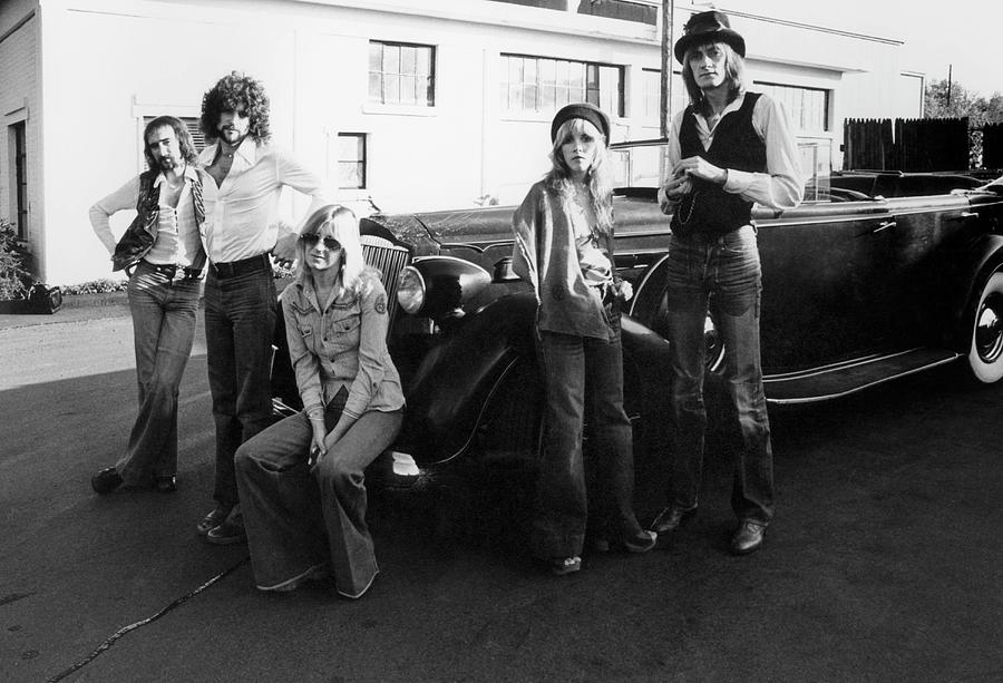 Photo Of Fleetwood Mac Photograph by Fin Costello