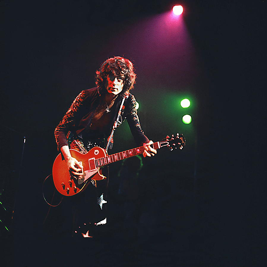 Photo Of Jimmy Page And Led Zeppelin Photograph by David Redfern