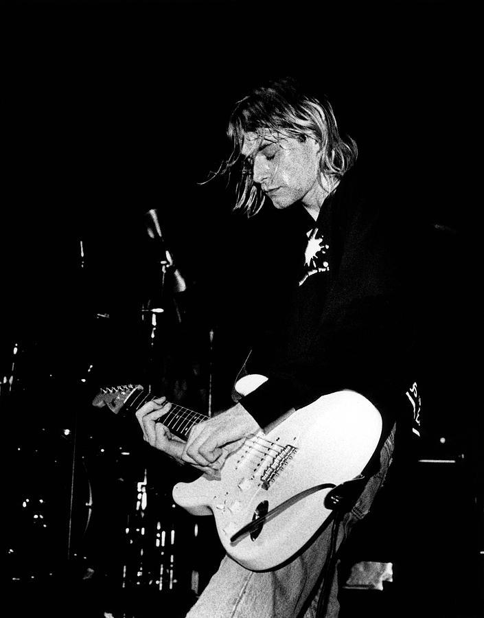 Photo Of Kurt Cobain And Nirvana Photograph by Paul Bergen