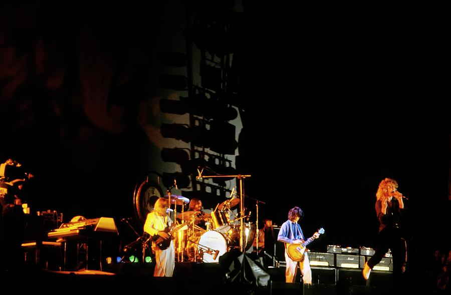 Photo Of Led Zeppelin Photograph by Mike Prior