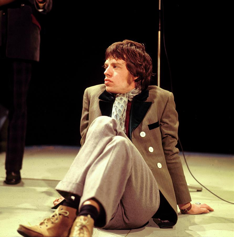 Photo Of Mick Jagger And Rolling Stones Photograph by David Redfern