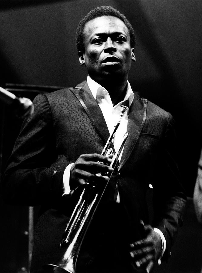 Photo Of Miles Davis Photograph by David Redfern