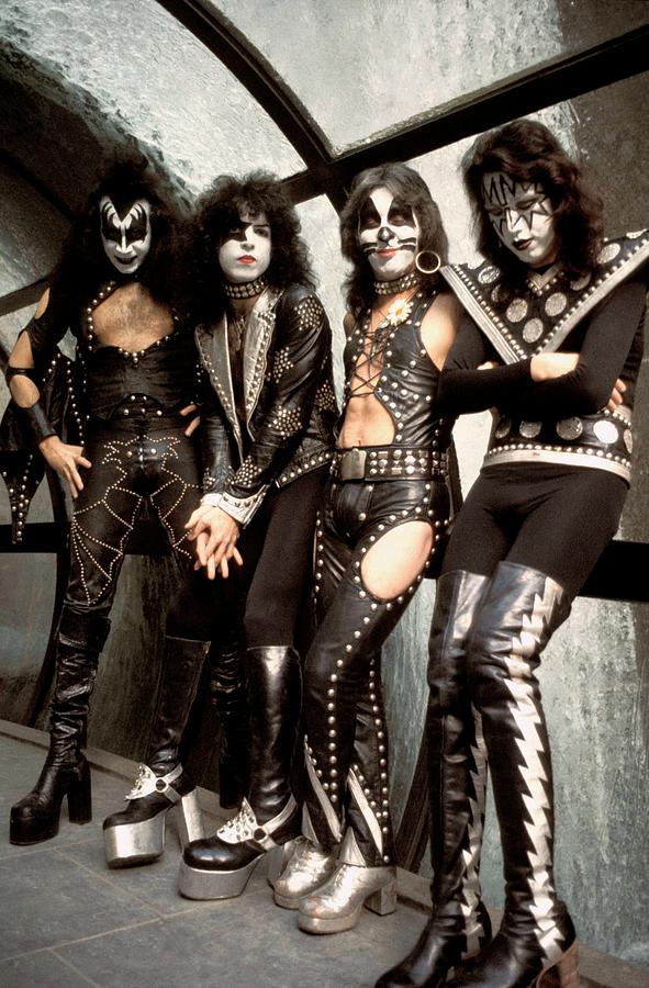 Photo Of Paul Stanley And Kiss And Ace Photograph by Steve Morley