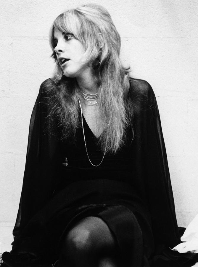 Photo Of Stevie Nicks And Fleetwood Mac Photograph by Fin Costello