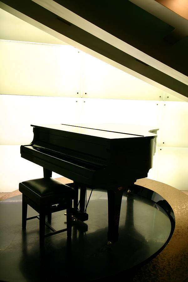 Piano Photograph by Peterhung101