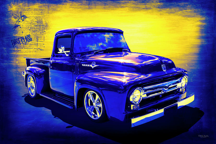 Pickup Truck by Keith Hawley