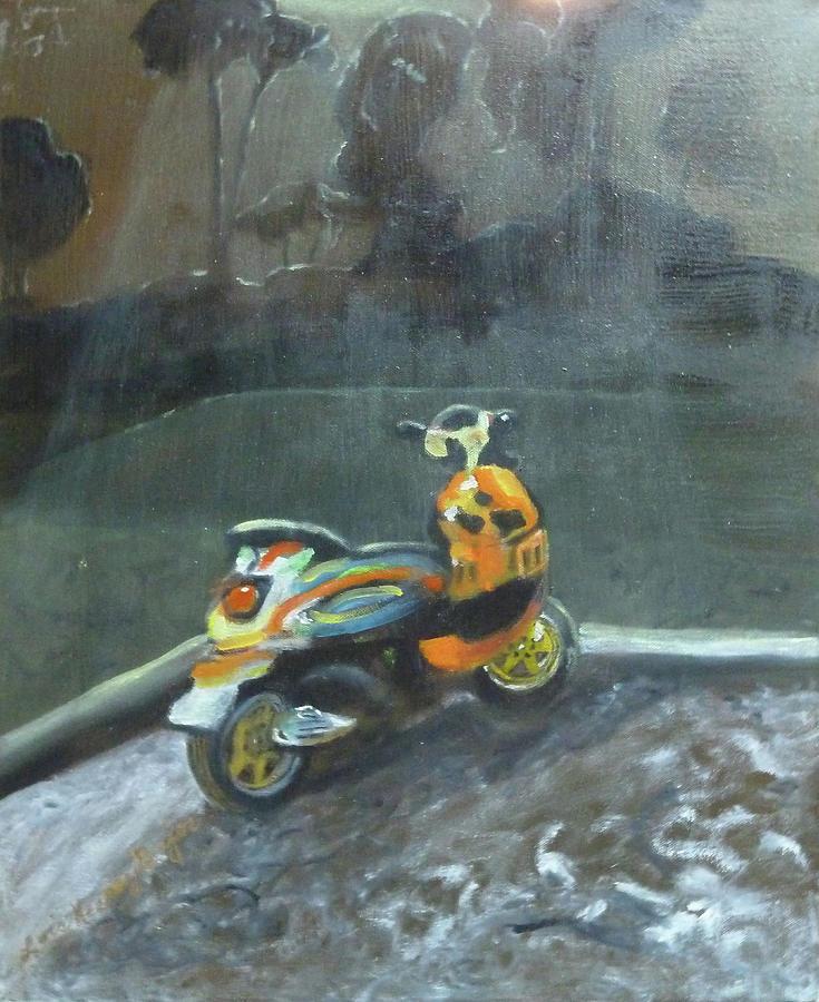 Pimp My Ride Painting - Pimp My Ride by Lois Bajor