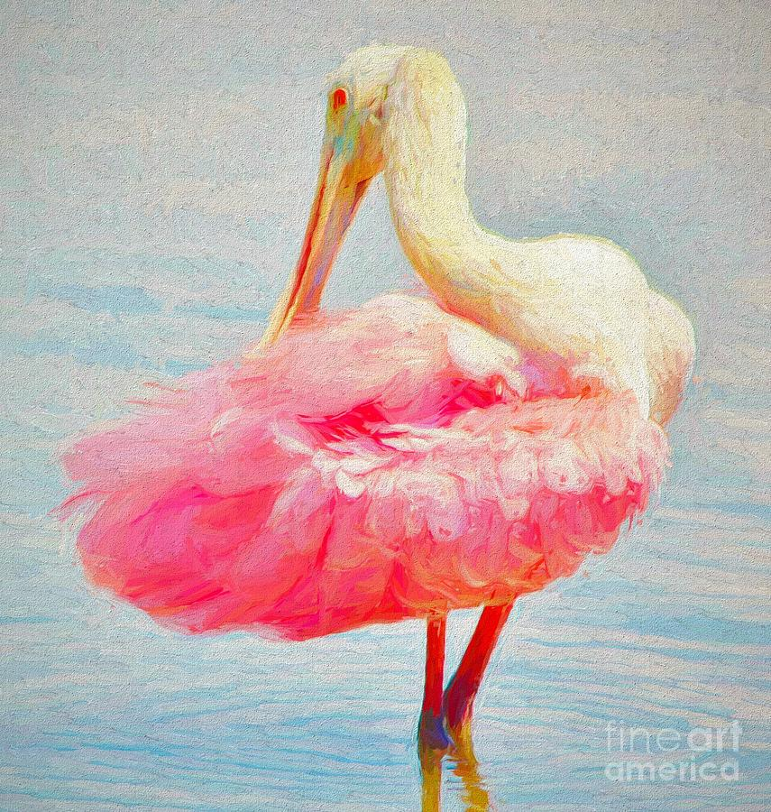 Pink Lady by Paulette Thomas