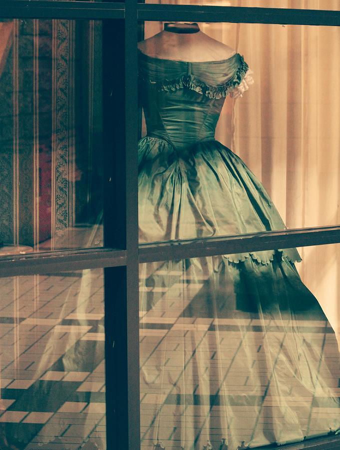 Pioneer Lady's Dress... by The Art Of Marilyn Ridoutt-Greene