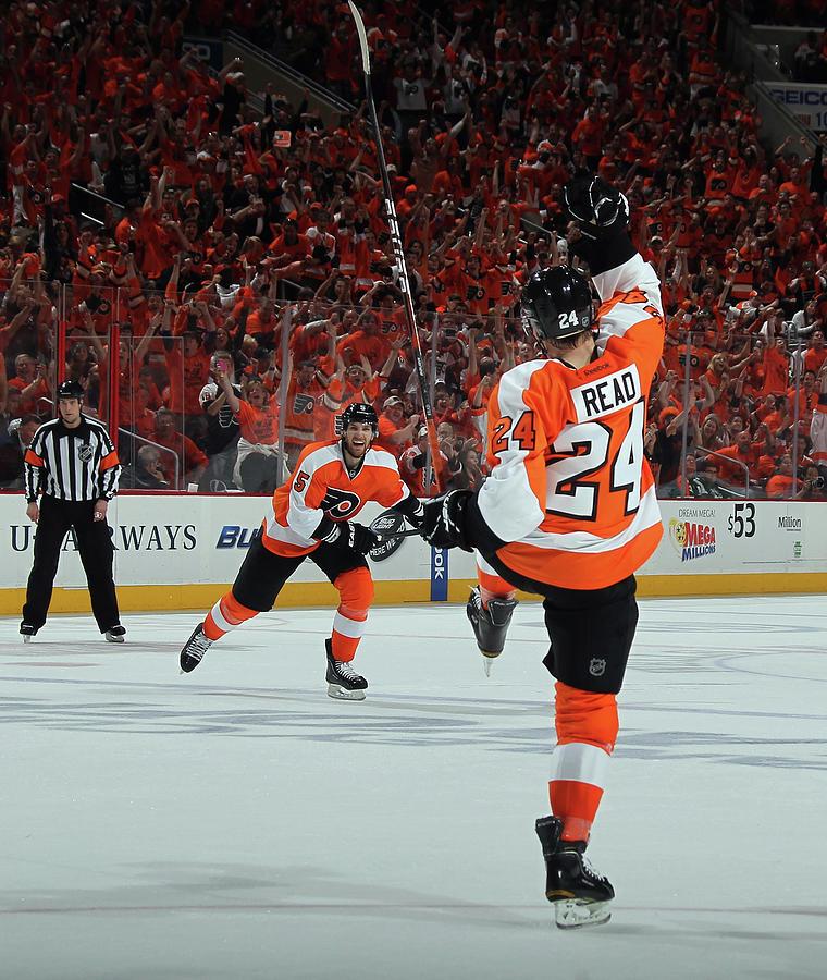 Pittsburgh Penguins V Philadelphia 1 Photograph by Bruce Bennett