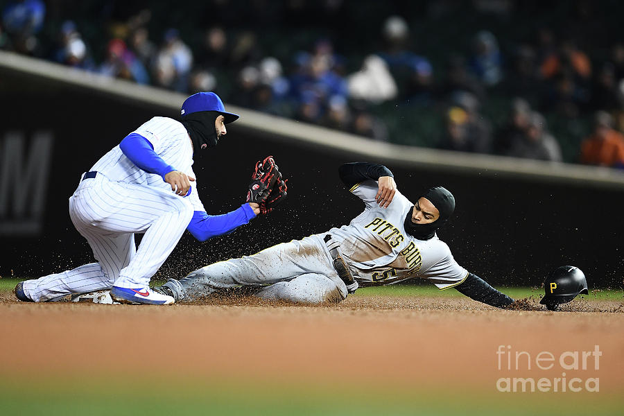 Pittsburgh Pirates  V Chicago Cubs 1 Photograph by Stacy Revere
