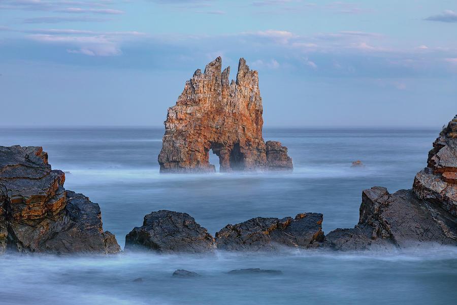 Luarca Photograph - Playa Portizuelo - Spain by Joana Kruse
