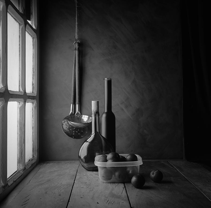 Composition Photograph - Plums by Luiz Laercio