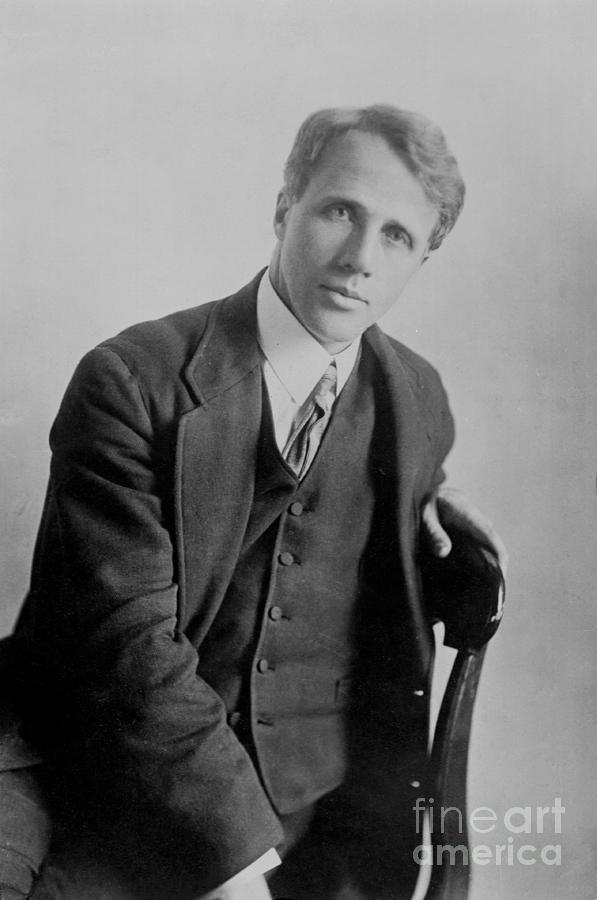 Poet Robert Frost Photograph by Bettmann