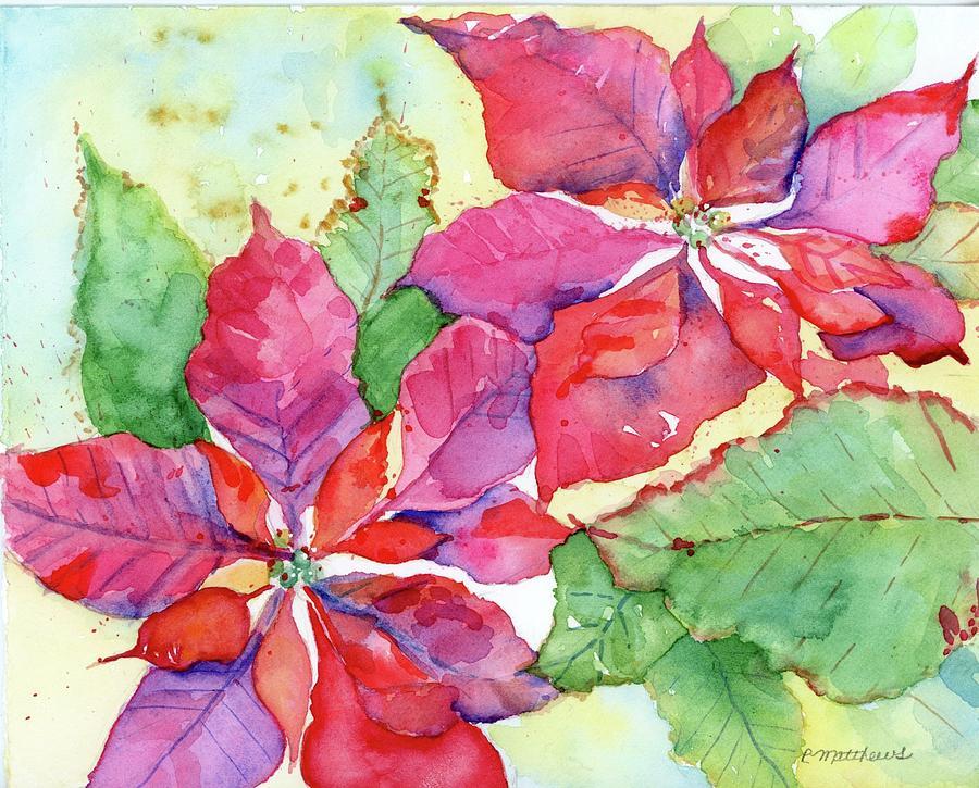 Poinsettia by Rebecca Matthews