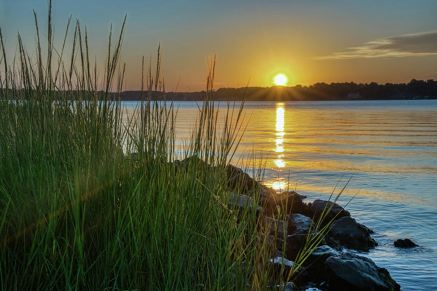 Poquoson Sunset by Jerry Gammon