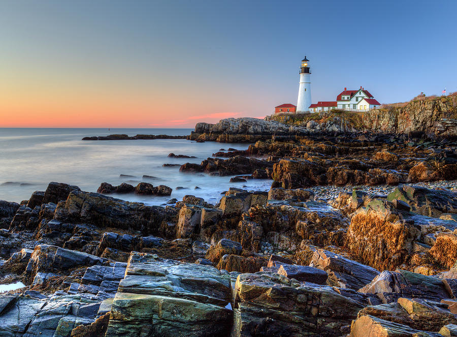 Portland Head light by Chris Babcock