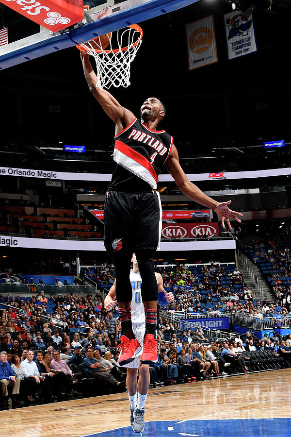 Portland Trail Blazers V Orlando Magic Photograph by Fernando Medina