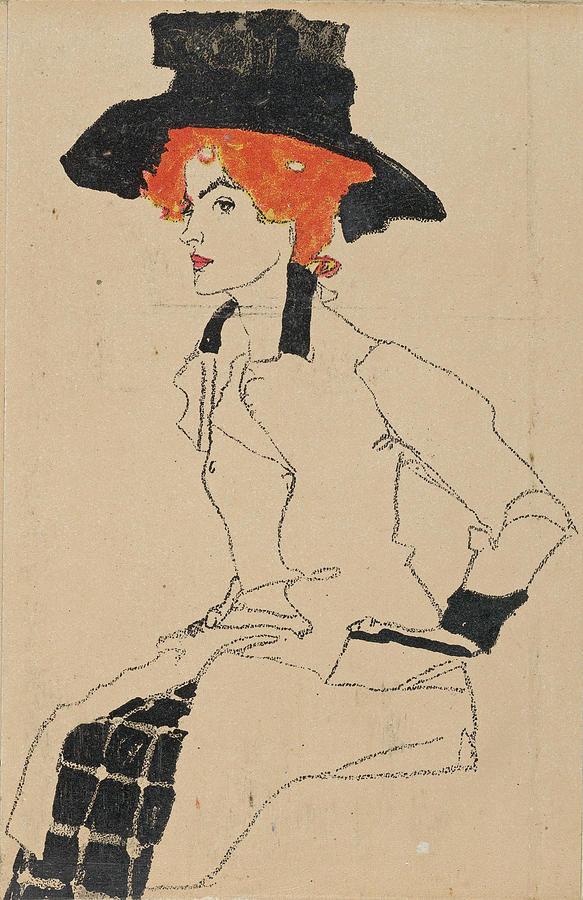 Portrait of a Woman 2 by Egon Schiele