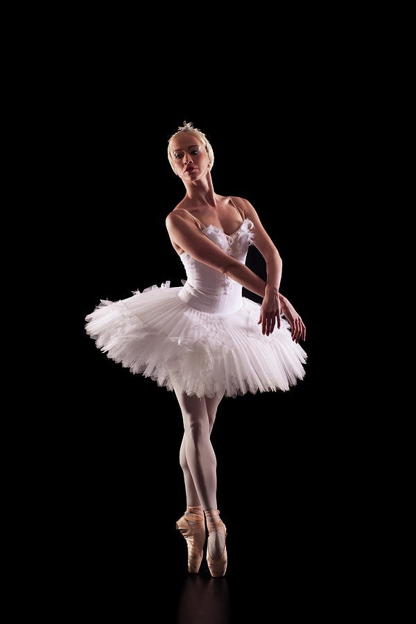 Portrait Of Beautiful Ballerina By Emirmemedovski