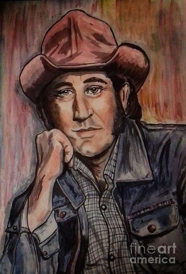 Portrait of Don Williams by Joan-Violet Stretch