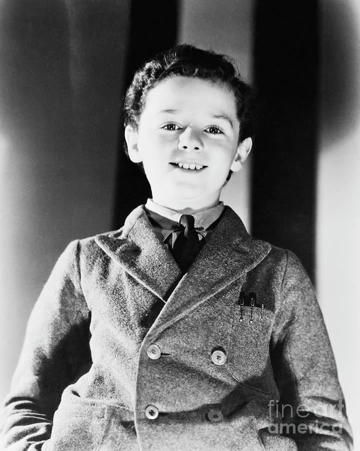 Portrait Of Freddie Bartholomew Photograph by Bettmann