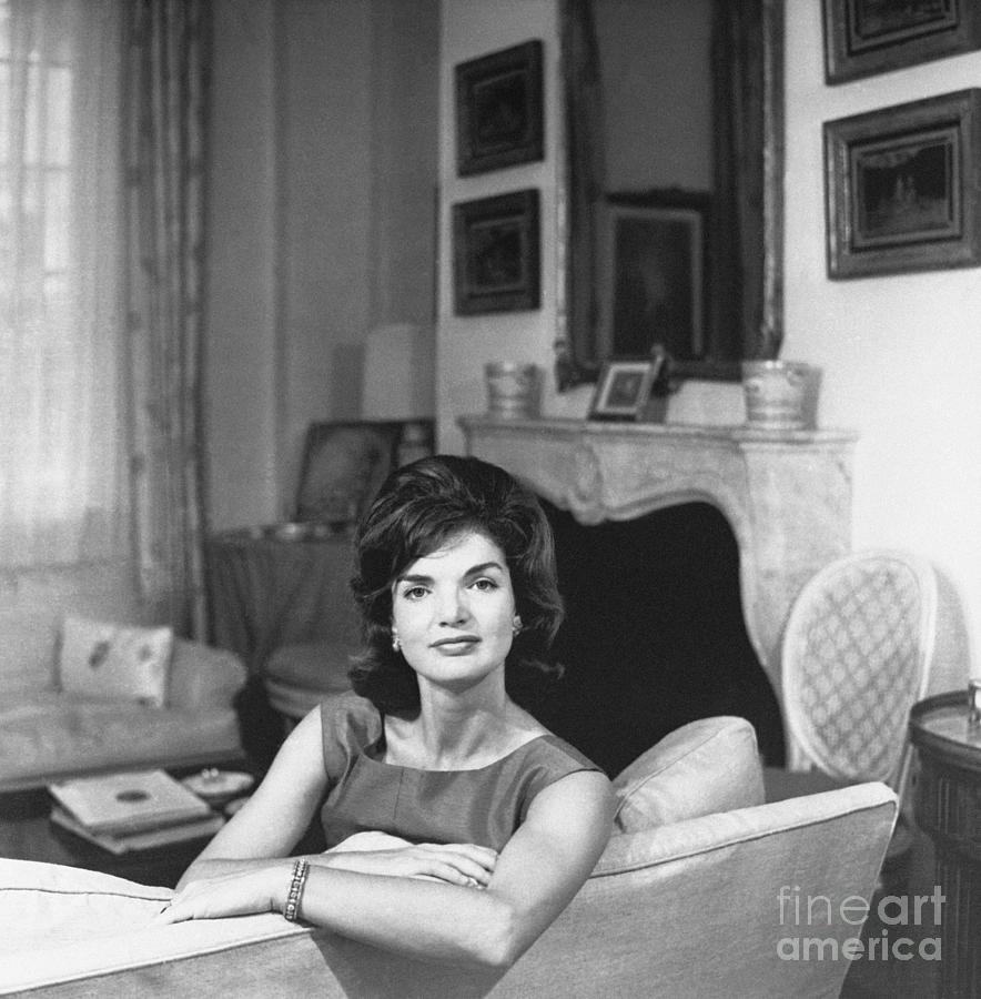 Portrait Of Jacqueline Kennedy Photograph by Bettmann