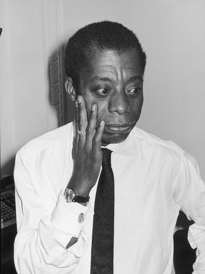 Portrait Of James Baldwin Photograph by Fred W. McDarrah