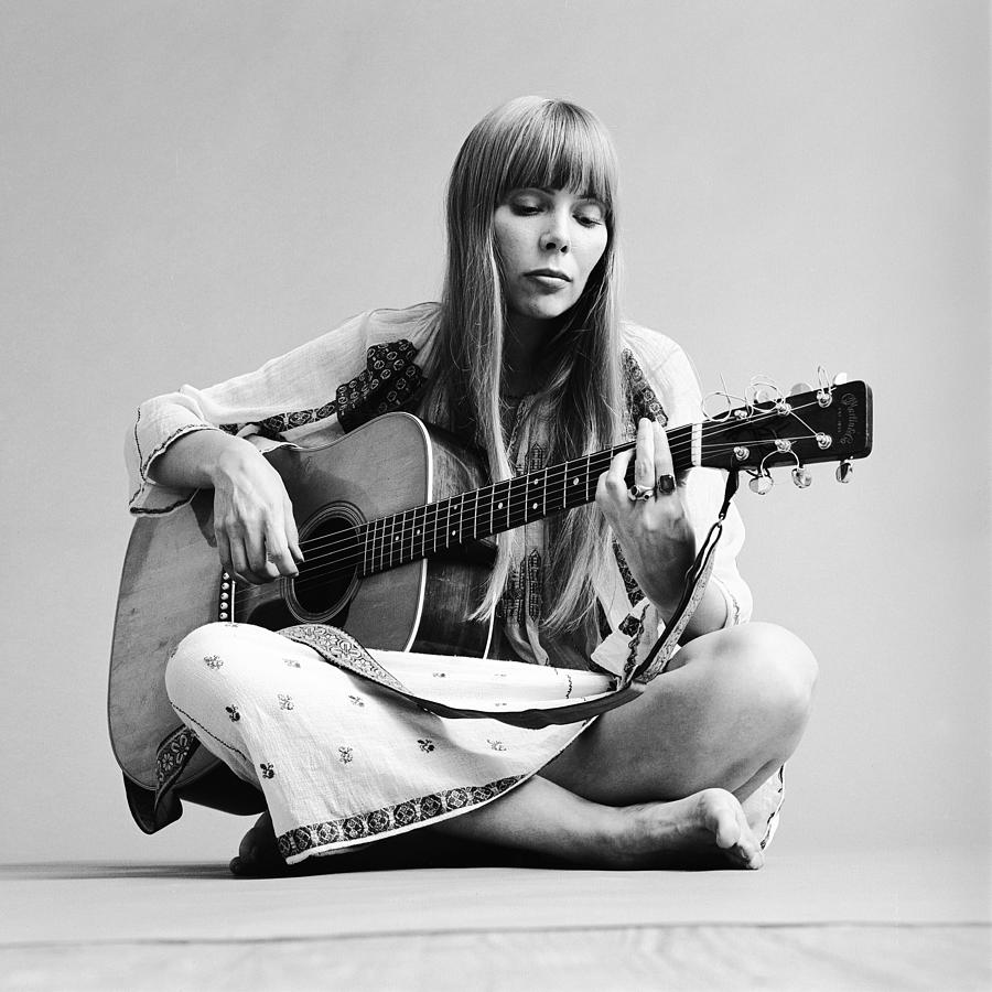 Portrait Of Joni Mitchell Photograph by Jack Robinson