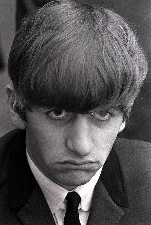 Portrait Of Ringo Starr, Drummer With Photograph by Popperfoto