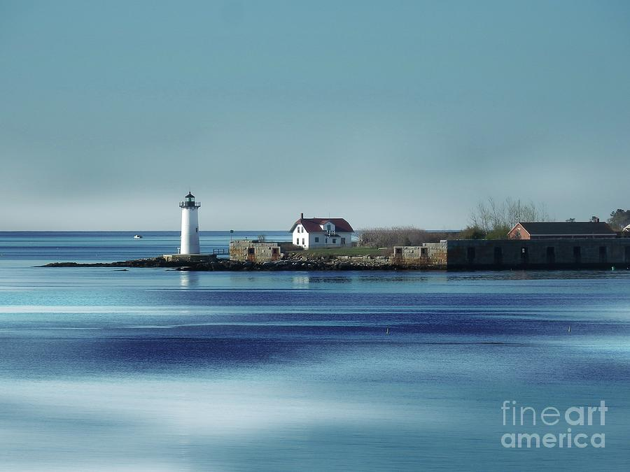 Portsmouth Harbor Lighthouse by Marcia Lee Jones