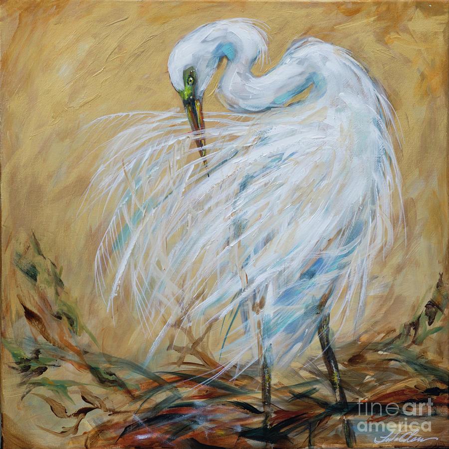 Preening by Linda Olsen