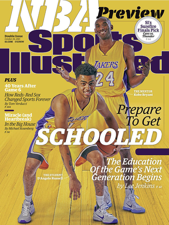 Prepare To Get Schooled, The Education Of The Games Next Sports Illustrated Cover Photograph by Sports Illustrated