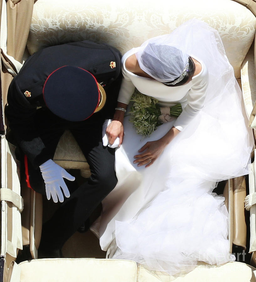 Prince Harry Marries Ms. Meghan Markle Photograph by Wpa Pool