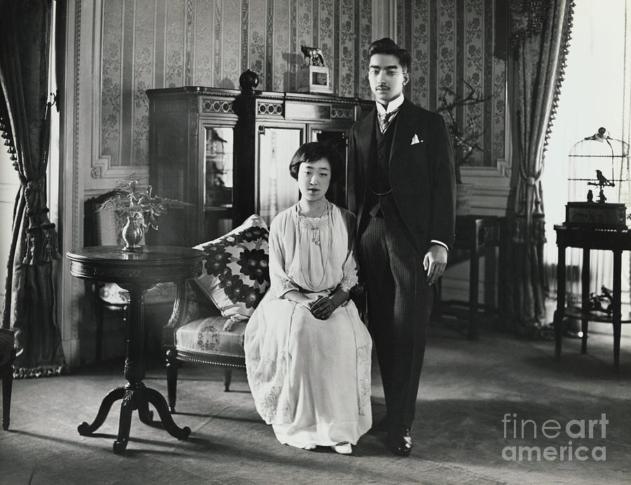 Prince Hirohito And Princess Nagato Photograph by Bettmann