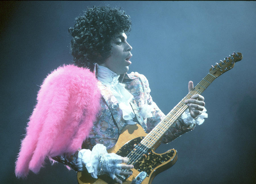 Prince Live In La Photograph by Michael Ochs Archives