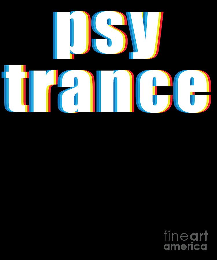 Psy Trance Design Gift For Acid Techno Electronic Music Fans