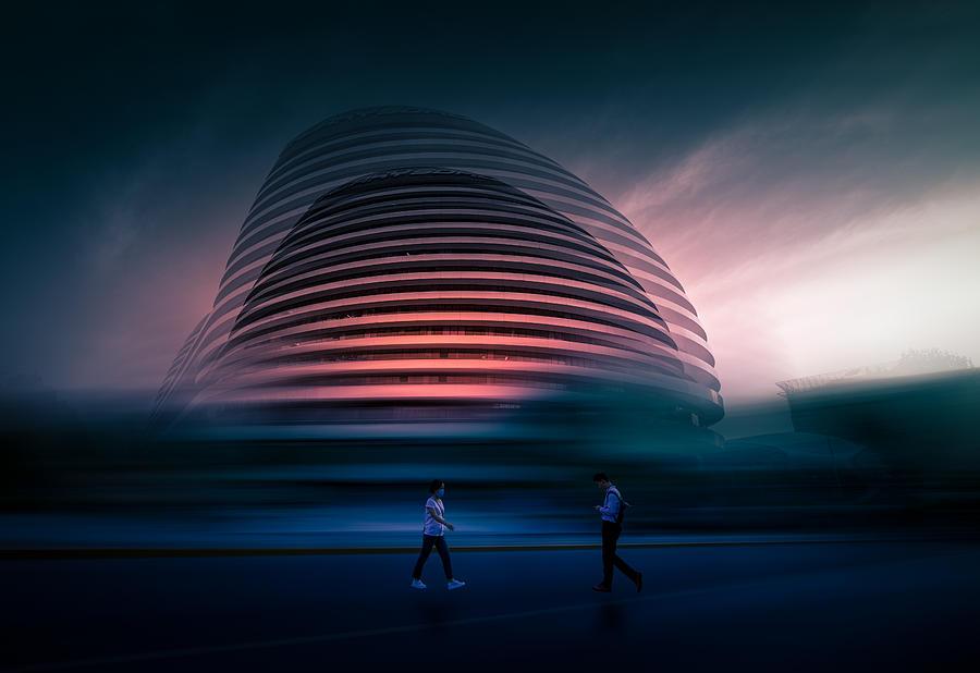 Creative Edit Photograph - Psychedelic by Baidongyun
