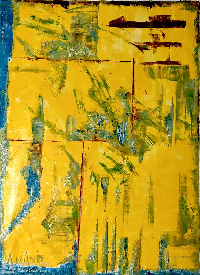 PURE ABSTRACT-5 by Anand Swaroop Manchiraju