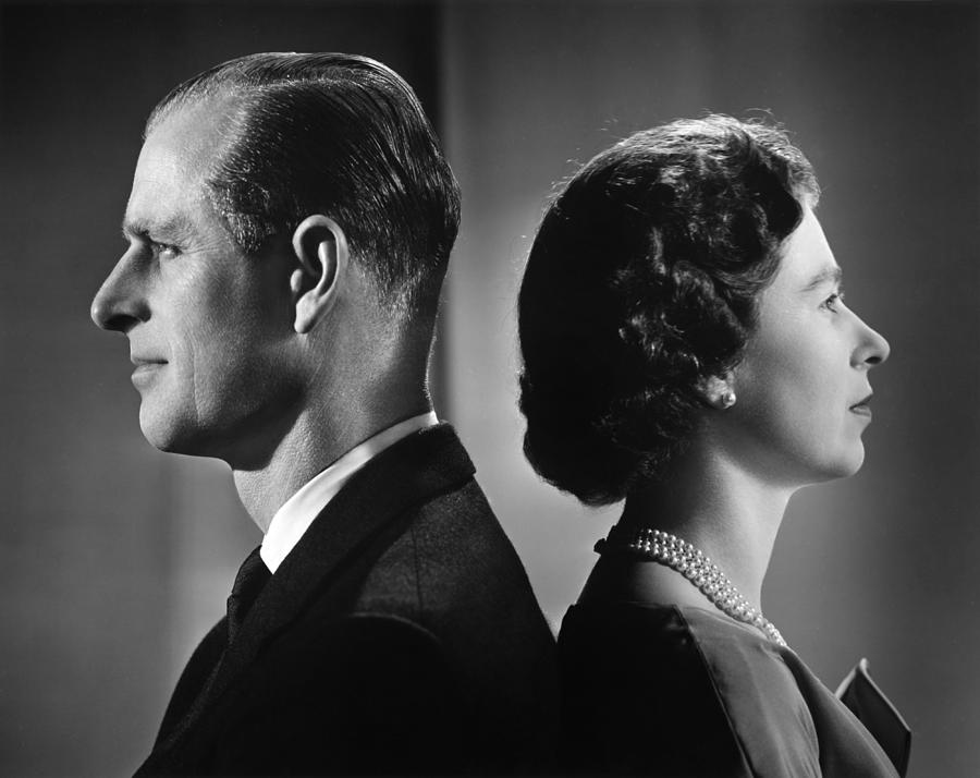 Queen Elizabeth II And Prince Philip Photograph by Michael Ochs Archives