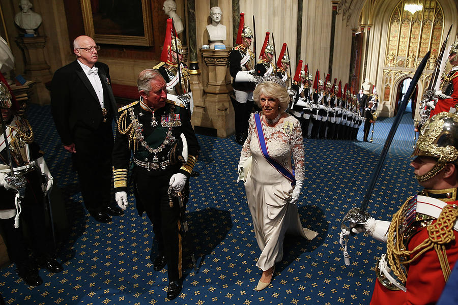 Queen Elizabeth II Attends The State Photograph by Dan Kitwood