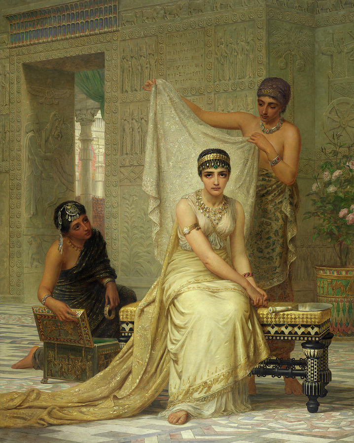 Queen Esther Painting - Queen Esther 1 by Edwin Long
