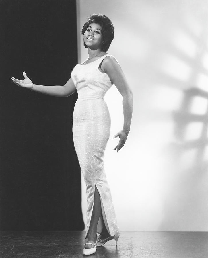 Queen Of Soul Portrait Photograph by Michael Ochs Archives