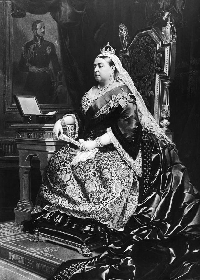 Queen Victoria Photograph by Hulton Archive