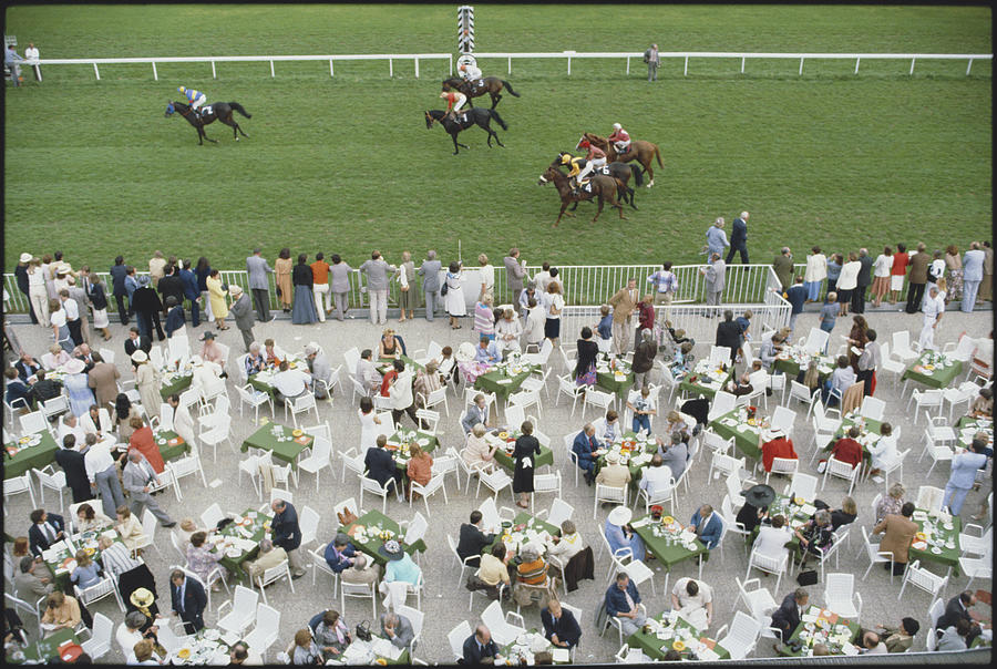 Racing At Baden-baden Photograph by Slim Aarons