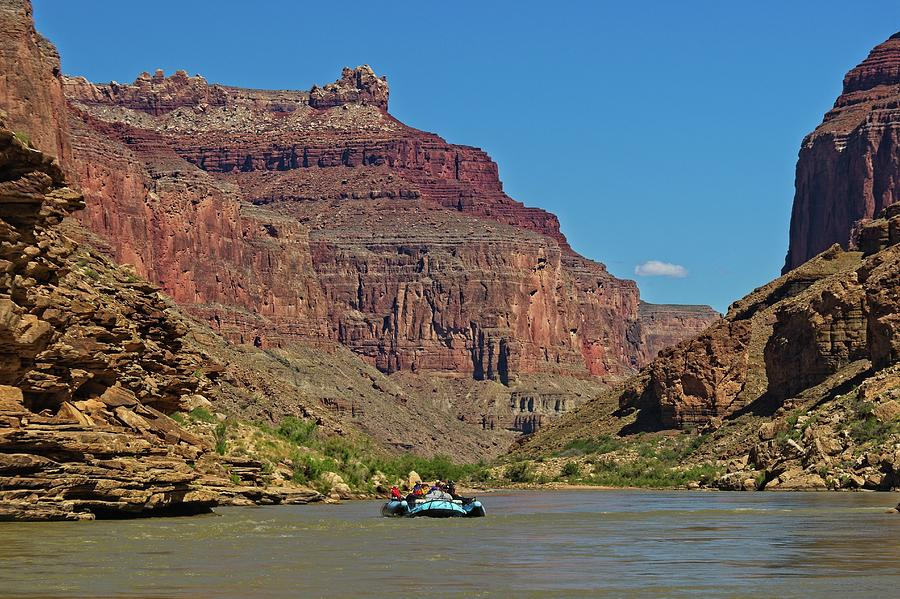 Rafting the Colorado River by Walt Sterneman