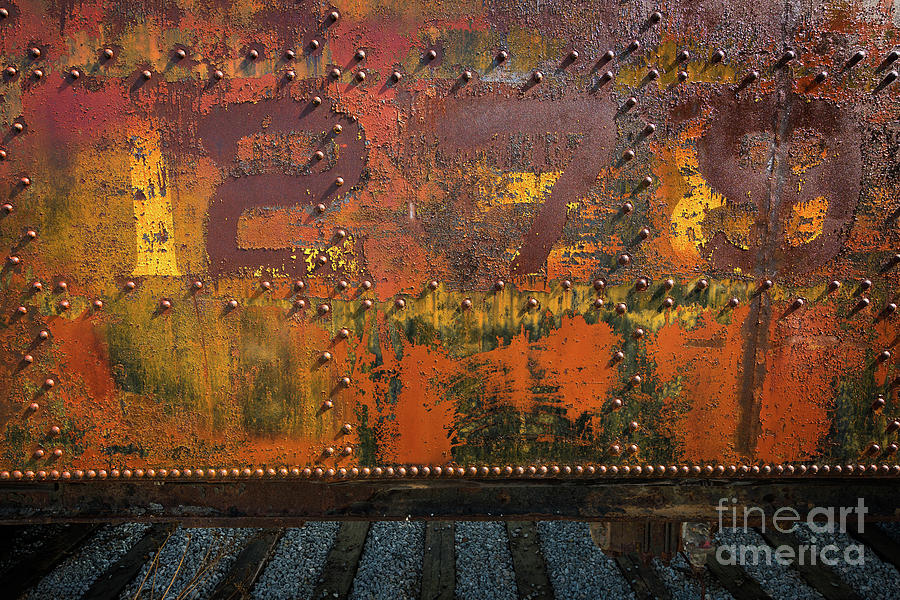 RAILCAR ABSTRACT by Doug Sturgess