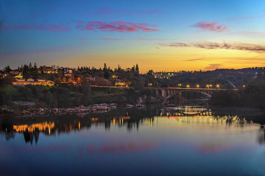 Rainbow Bridge at Sunrise by Jonathan Hansen