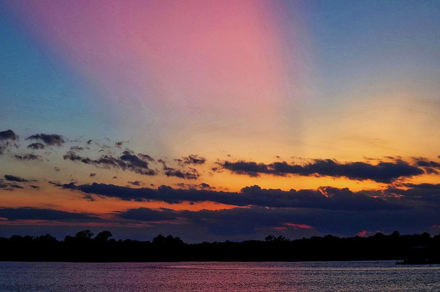 Rainbow Sunset by Linda James