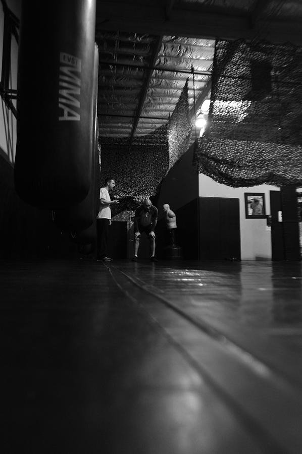 Randy Couture Training In Vegas Photograph by Stephen Albanese